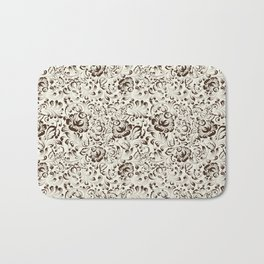 Floral seamless pattern in Gzhel style Bath Mat