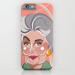 Golden Girls - Dorothy Zbornak iPhone Case