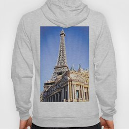 Eiffel tower at Las Vegas, USA with blue sky Hoody