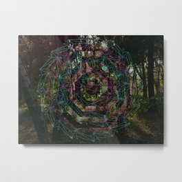 Crystal Portal Metal Print
