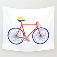 bike Wall Tapestries featuring Bike by Keep It Simple