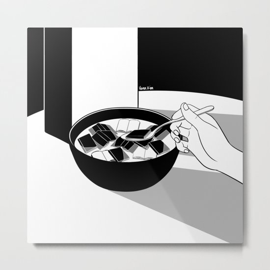 Breakfast for the Soul Metal Print