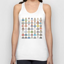 David Bowie – Head and Shoulders Above The Rest Unisex Tank Top