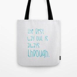 phrases 01 Tote Bag