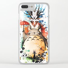 """""""The crossover n°2"""" Clear iPhone Case"""