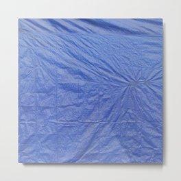 BLUE TARP Metal Print