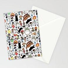 Kawaii Ghibli Doodle Stationery Cards