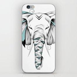 Poetic Elephant iPhone Skin