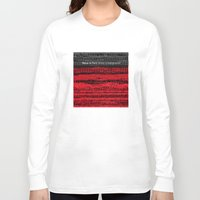 velvet underground Long Sleeve T-shirts featuring Venus in Furs - The Velvet Underground by Blank & Vøid