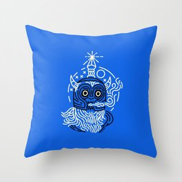 Cold Knight Throw Pillow