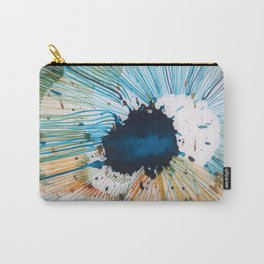 The Source of Blue Carry-All Pouch