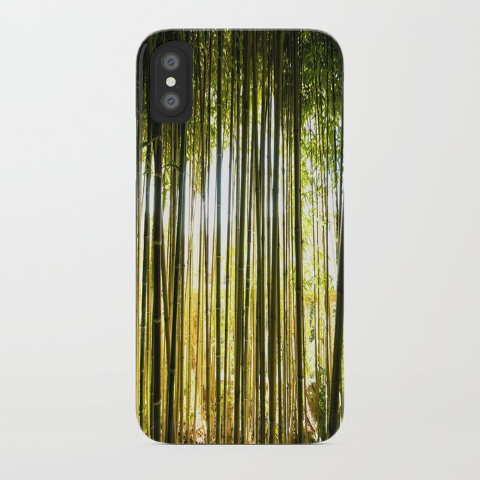 Rothschild Bamboo Forest iPhone Case