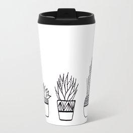 Cacti Line Drawing Travel Mug