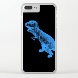 Tyrannosaurus Rex Clear iPhone Case
