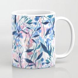 Wandering Wildflowers Blue Coffee Mug