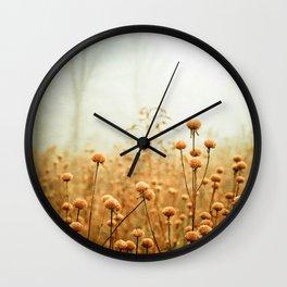 Daybreak in the Meadow Wall Clock