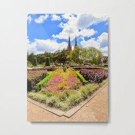 Garden in Sydney, Australia Metal Print