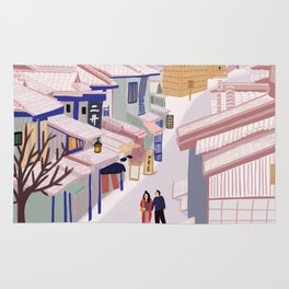 Old Town Kyoto Rug