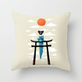 Torii Throw Pillow