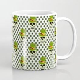 St Paddys Skull - St Patrick's Day Coffee Mug