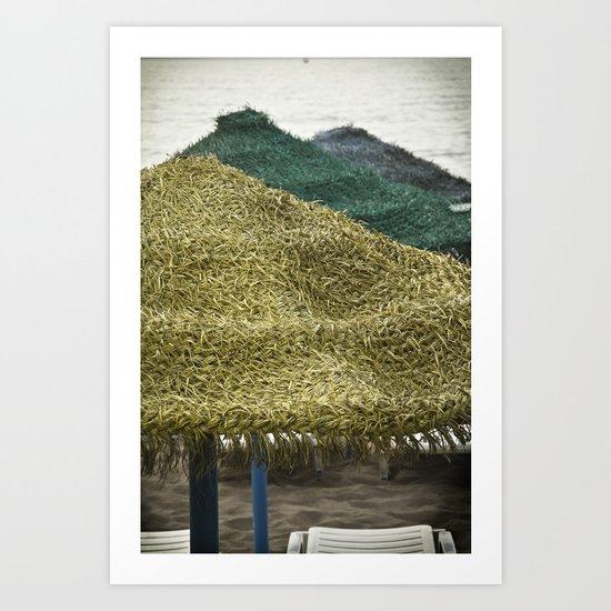 Sombrilla Art Print