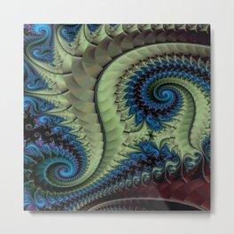 Fractal Abstract 87 Metal Print