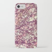 sofa iPhone & iPod Cases featuring floral sofa by vibeyantlers