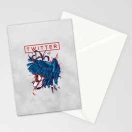 Social Networks / Twitter Stationery Cards