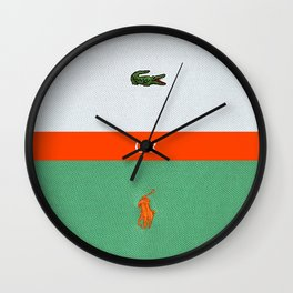TENNIS or POLO Wall Clock