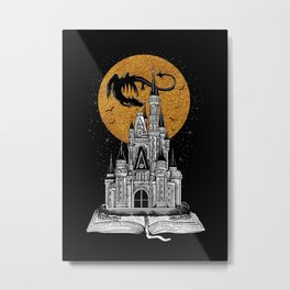 Fairytale Book Metal Print
