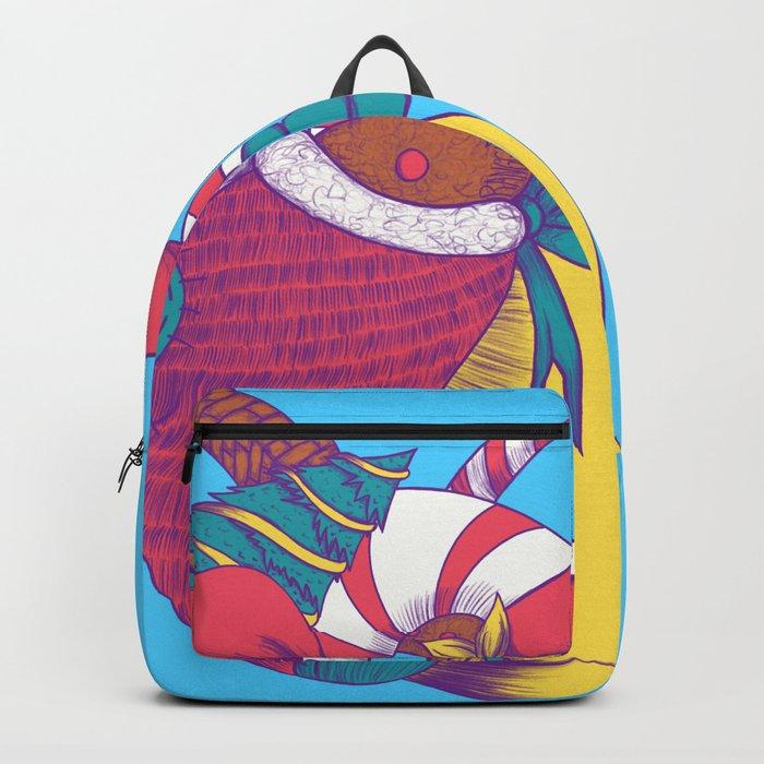 Christmas Heart Backpack