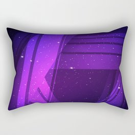 Galaxy Lines Rectangular Pillow