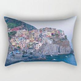 Manarola, Cinque Terre Rectangular Pillow