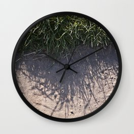 The Grass and it's Shadow Wall Clock