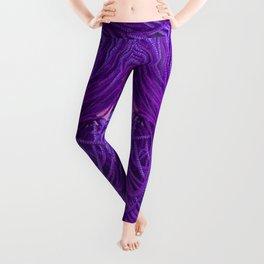 Purple Coils Leggings