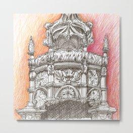 Sta Maria crown Metal Print