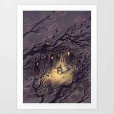 Could It Be The Wind? Art Print