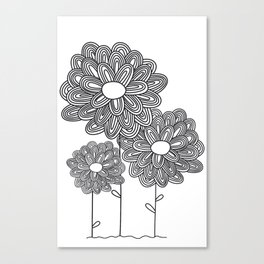 Hello Spring! - Flowers Canvas Print