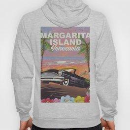 Margarita Island Venezuela travel poster Hoody