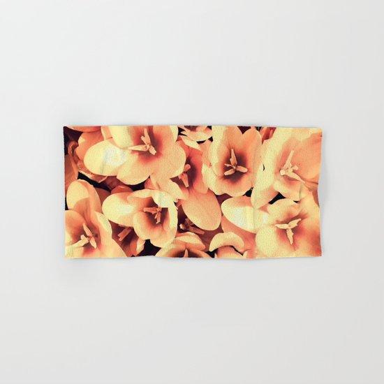 Flowers in the garden Hand & Bath Towel