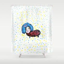 Sucha Lady Shower Curtain