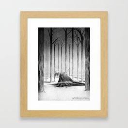The fall of a kingdom Framed Art Print