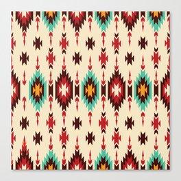 American Native Pattern No. 103 Canvas Print