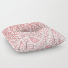 Pink Pattern Floor Pillow