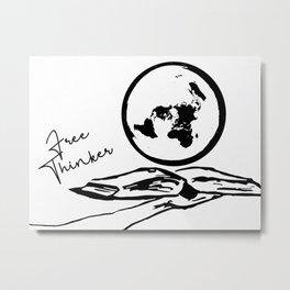 Free Thinker Metal Print