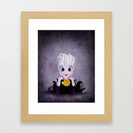 Villain Kids, Series 1 - Ursula Framed Art Print