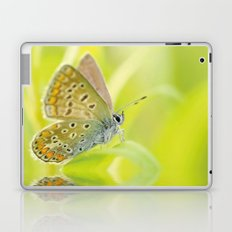 zen style butterfly green outdoor Laptop & iPad Skin
