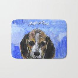 Beagles For Ever Bath Mat