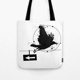 One way Tote Bag