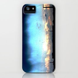 Cave from clouds.  iPhone Case